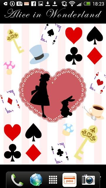 Aliceシリーズ☆Alice&Rabbit ライブ壁紙のスクリーンショット_2