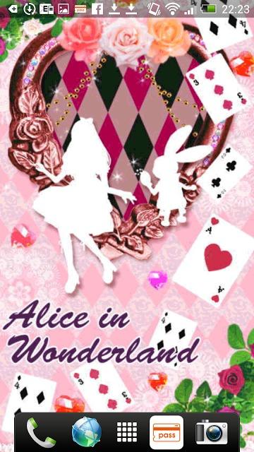 Aliceシリーズ☆Alice&Rabbit ライブ壁紙のスクリーンショット_3