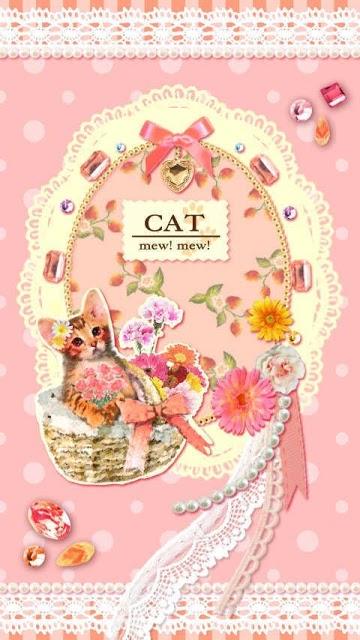 Pinky world of cats ライブ壁紙のスクリーンショット_1