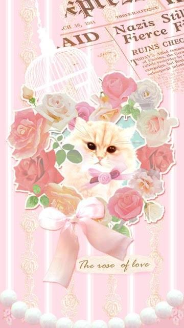 Pinky world of cats ライブ壁紙のスクリーンショット_2