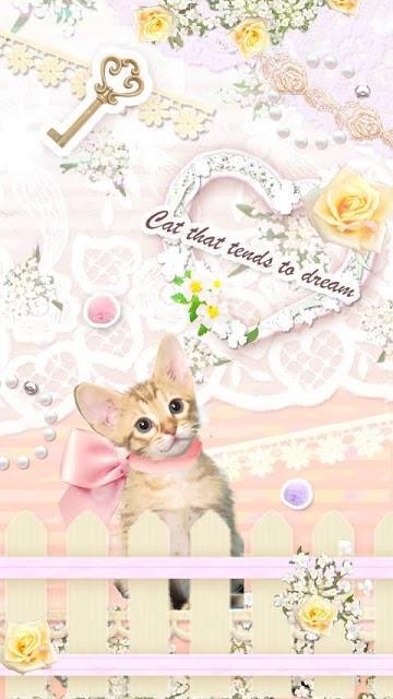 Pinky world of cats ライブ壁紙のスクリーンショット_3