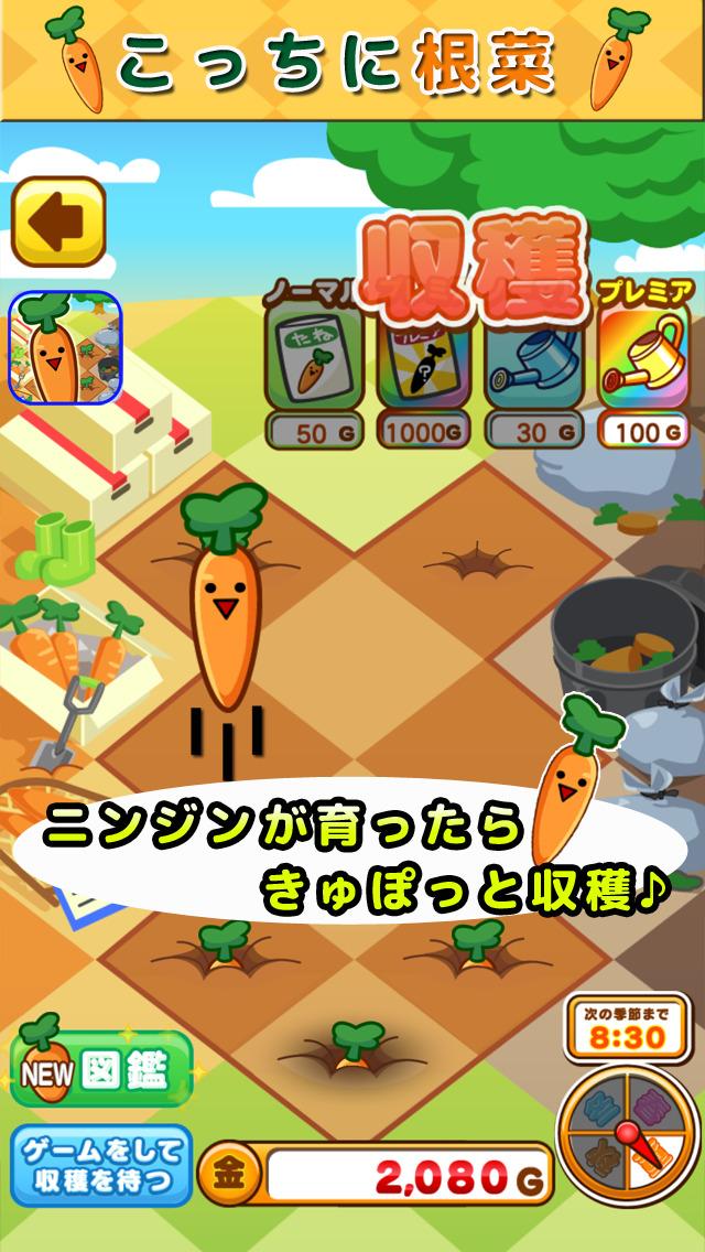 こっちに根菜 ~ニンジン編~のスクリーンショット_3