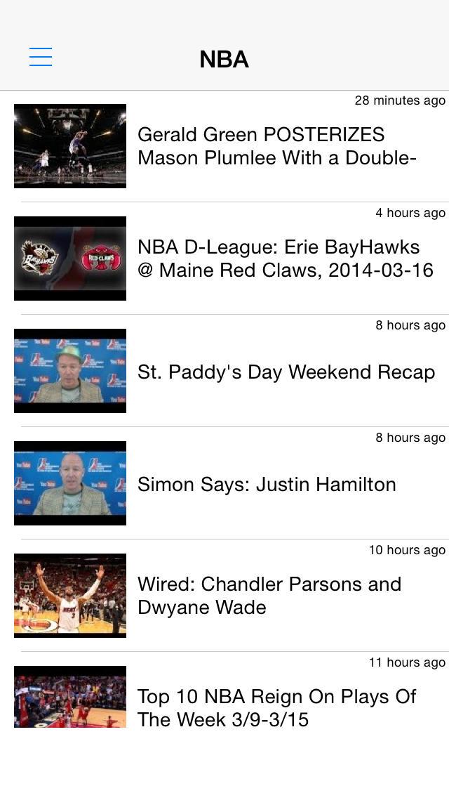 バスケットボール動画まとめ - 試合結果やハイライトを動画でチェック!のスクリーンショット_1