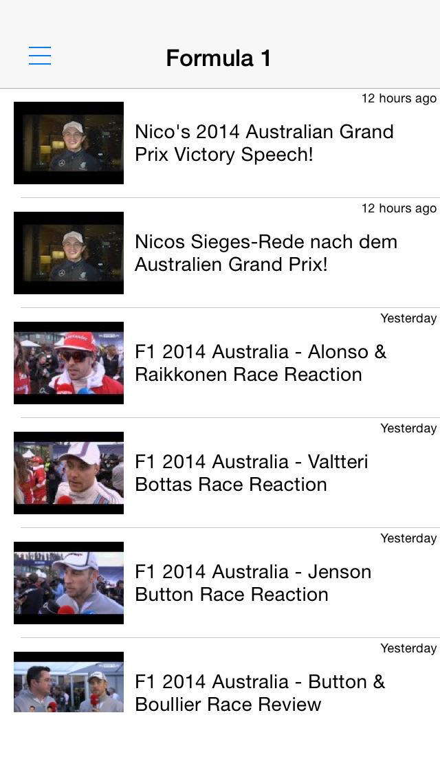 モータースポーツ動画まとめ - 結果やハイライトを動画でチェック!のスクリーンショット_1