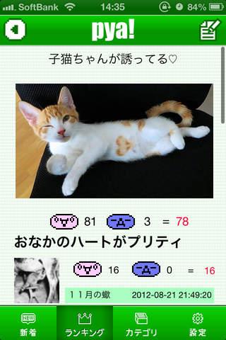 面白写真・ネタ&バカ画像・神動画・投稿型無料アプリ~pya!ネタアプリ~のスクリーンショット_2