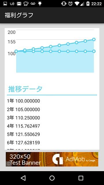 福利グラフ -複利計算を可視化-のスクリーンショット_3