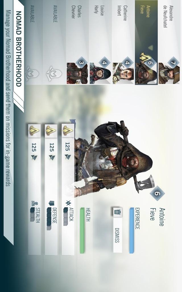 Assassin's Creed® Unity Appのスクリーンショット_4