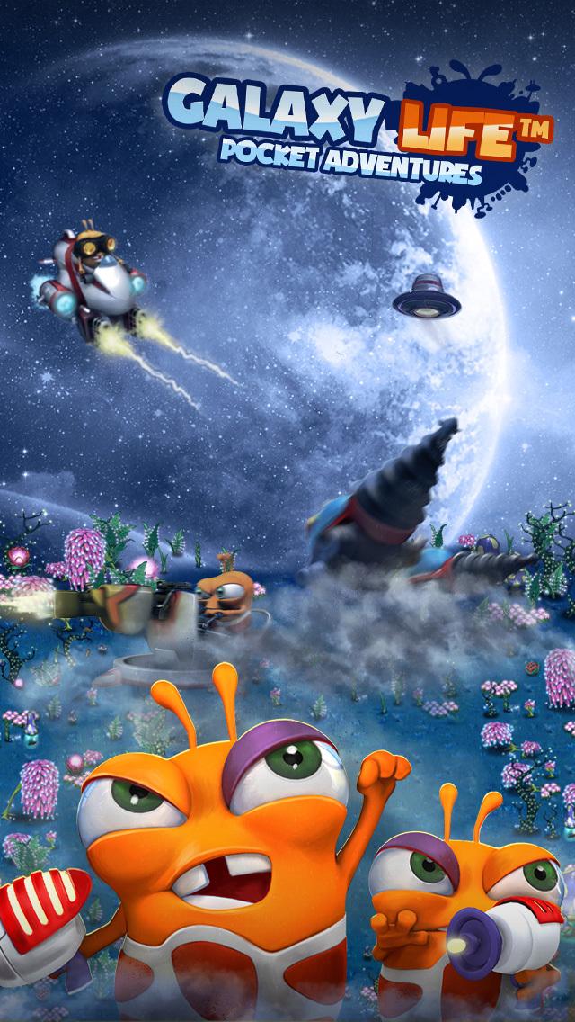 Galaxy Life™: Pocket Adventuresのスクリーンショット_1