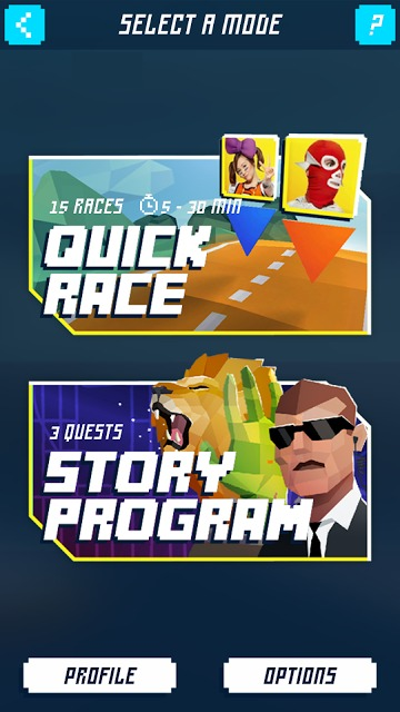 Shape Up Battle Runのスクリーンショット_1