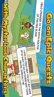 Poptropica: Forgotten Islandsのスクリーンショット_1