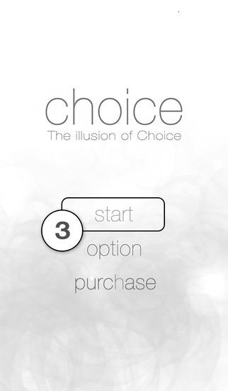 The illusion of Choiceのスクリーンショット_3