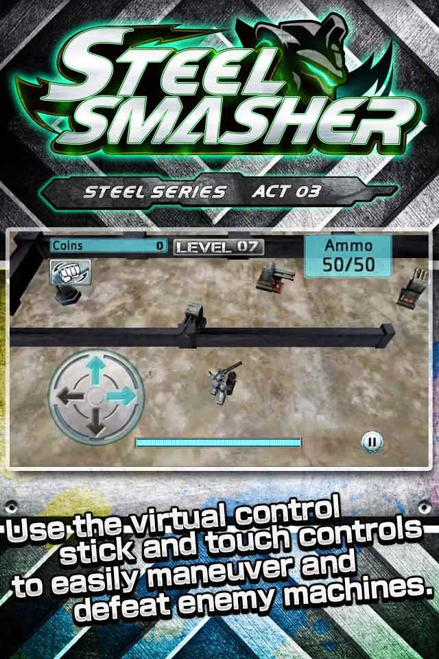 Steel Smasherのスクリーンショット_2