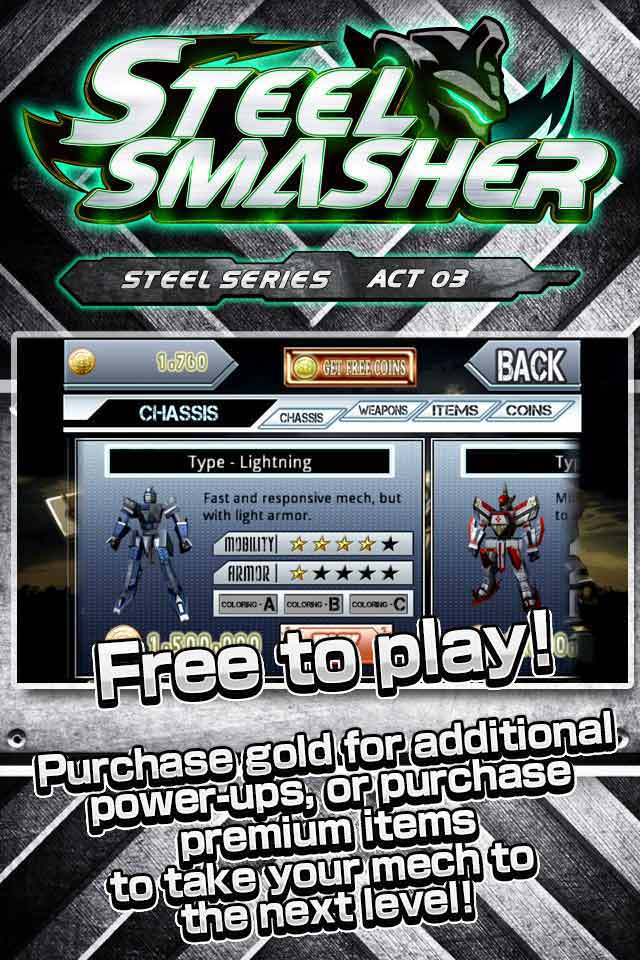 Steel Smasherのスクリーンショット_4