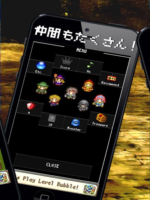レベルバブル - レベルを上げてモンスターを倒すRPGゲームのスクリーンショット_3