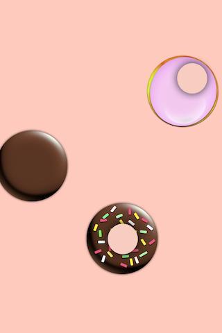 ぽすぽすドーナツ - かわいくドーナツを作って暇つぶしが無料のスクリーンショット_2