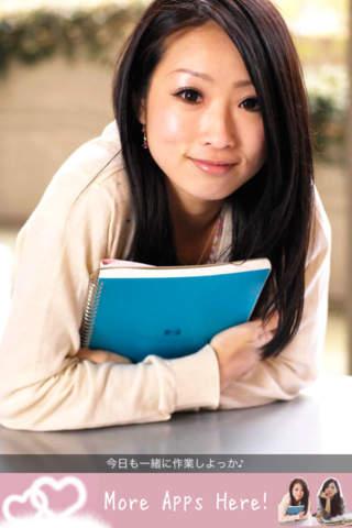 勉強デート♡かわいい彼女とデスクワークしちゃおう♪ PlusGirlsMiniのスクリーンショット_3