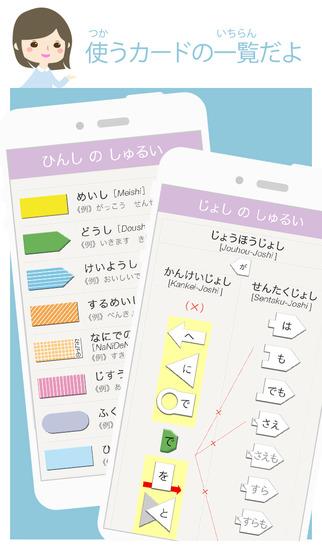 VLJ 文法アプリLite 初級1 日本語 学習  ---Visual Learning .Japanese---のスクリーンショット_5