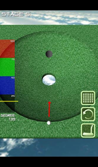 1球パターゴルフ〜無理難題を攻略せよ〜のスクリーンショット_1
