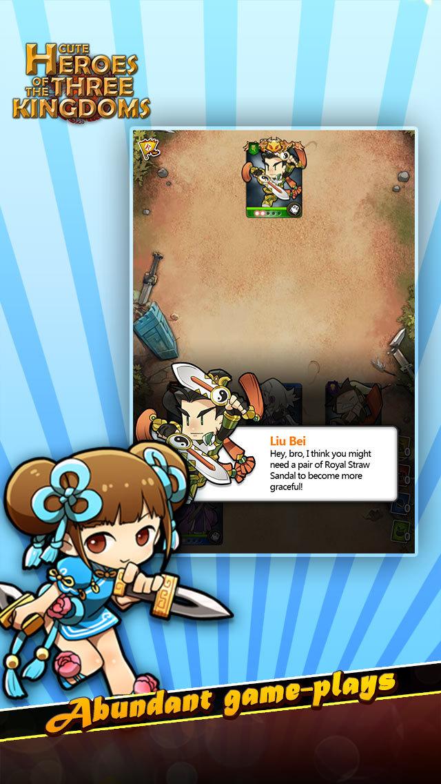 Cute Heroes of the Three Kingdomsのスクリーンショット_3