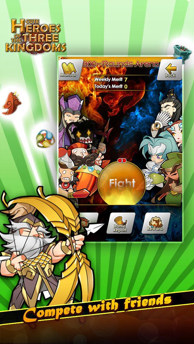 Cute Heroes of the Three Kingdomsのスクリーンショット_4