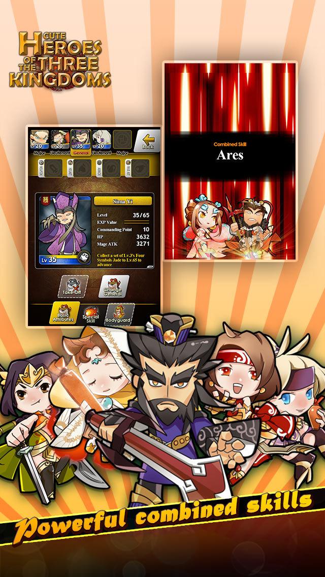 Cute Heroes of the Three Kingdomsのスクリーンショット_5