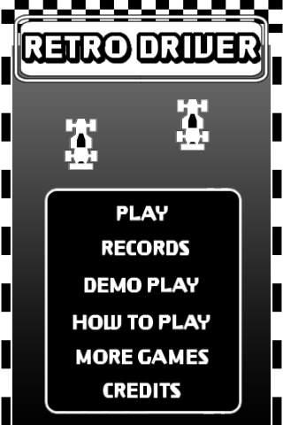 RETRO DRIVER FREEのスクリーンショット_3