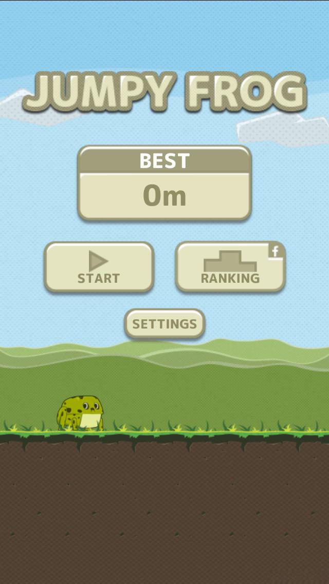 JUMPY FROG!のスクリーンショット_1