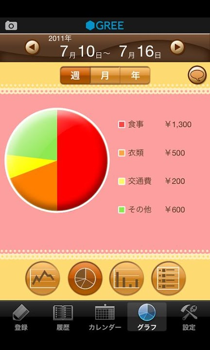 家計簿 by グリーのスクリーンショット_4
