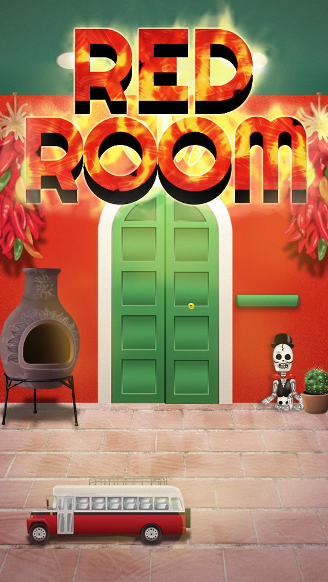 脱出ゲーム REDROOMのスクリーンショット_1