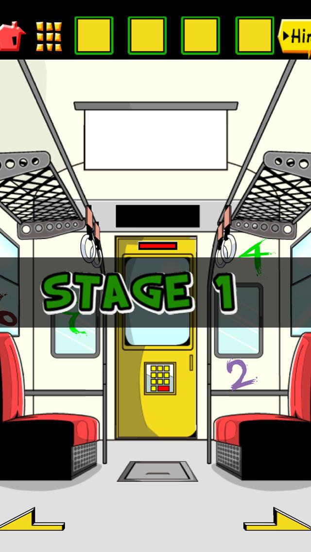 脱出ゲーム 電車からの脱出のスクリーンショット_1