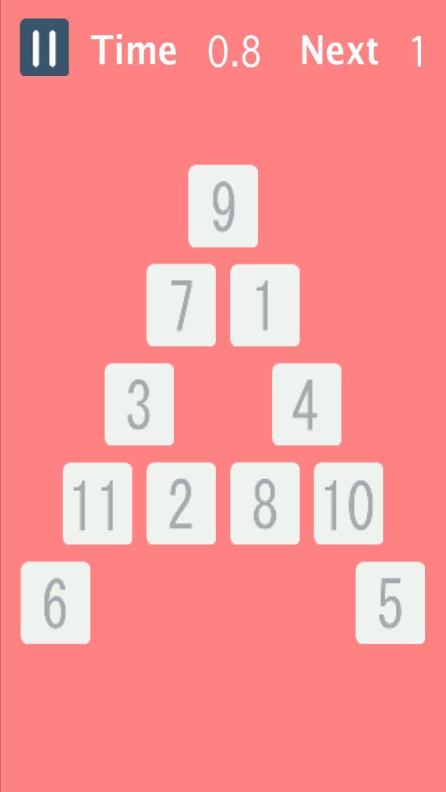 FindNumber-数字を見つけろ-【脳トレ反射神経教育アプリ】のスクリーンショット_4