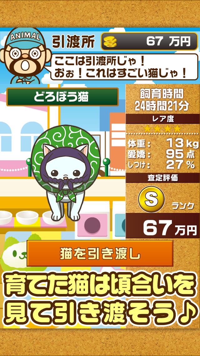 ねこカフェ~猫を育てる楽しい育成ゲーム~のスクリーンショット_4