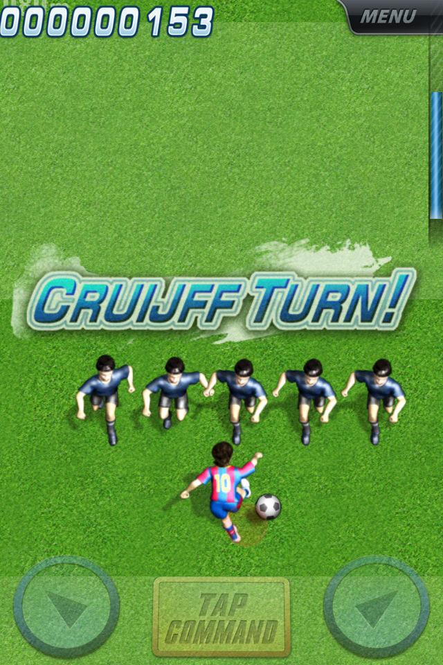 コマンドサッカー アクションスポーツゲームのスクリーンショット_3