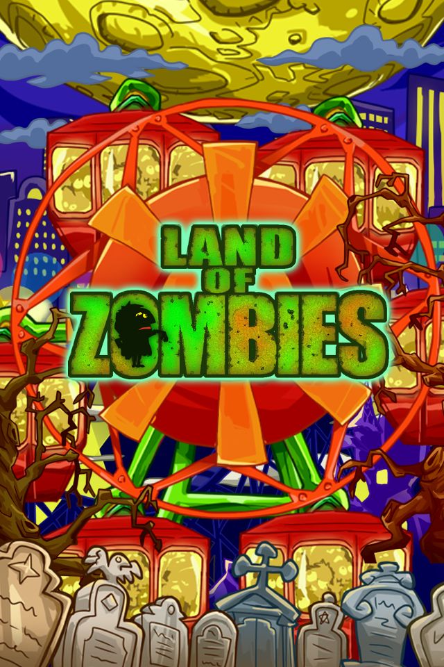 ゾンビランド ~ゾンビの遊園地を作るパズル系箱庭シュミレーションゲーム~のスクリーンショット_1