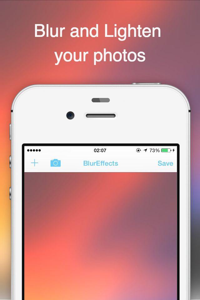 BlurEffect -ぼかしカメラ 簡単に写真加工できちゃう -のスクリーンショット_1