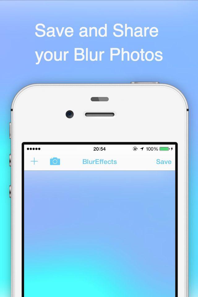 BlurEffect -ぼかしカメラ 簡単に写真加工できちゃう -のスクリーンショット_5