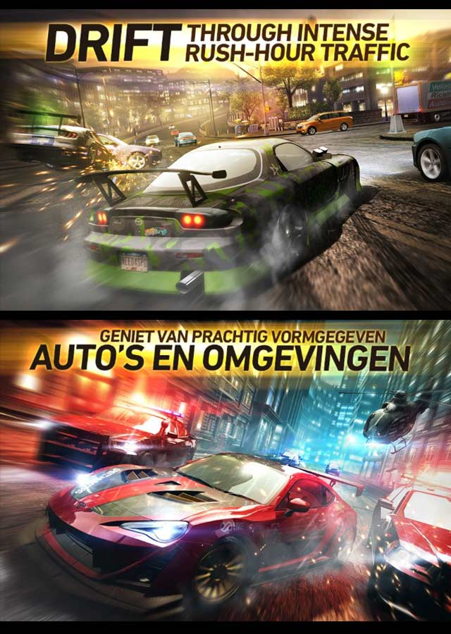 NEED FOR SPEED NO LIMITSのスクリーンショット_2
