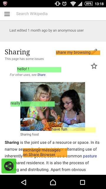 Share Browser : SNSブラウザのスクリーンショット_1