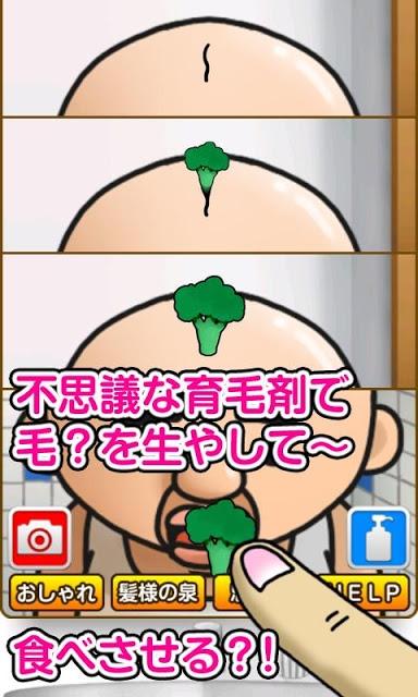 おっさんの毛~育成ゲーム ハゲパラLet's育毛のスクリーンショット_2