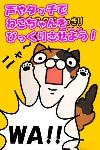 どっきりねこ〜かわいい猫アプリ〜のスクリーンショット_2