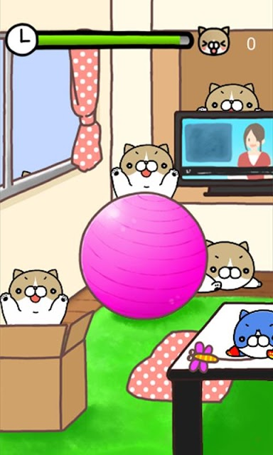 こちょねこつんつん〜モグラ叩き風育成ゲーム〜のスクリーンショット_2