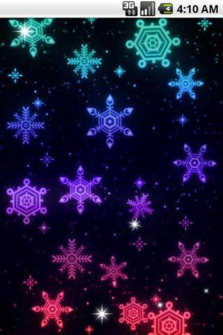 光る模様 ライブ壁紙02のスクリーンショット_4