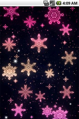 光る模様 ライブ壁紙02のスクリーンショット_5