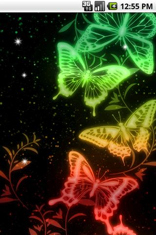 光る模様 ライブ壁紙01のスクリーンショット_5