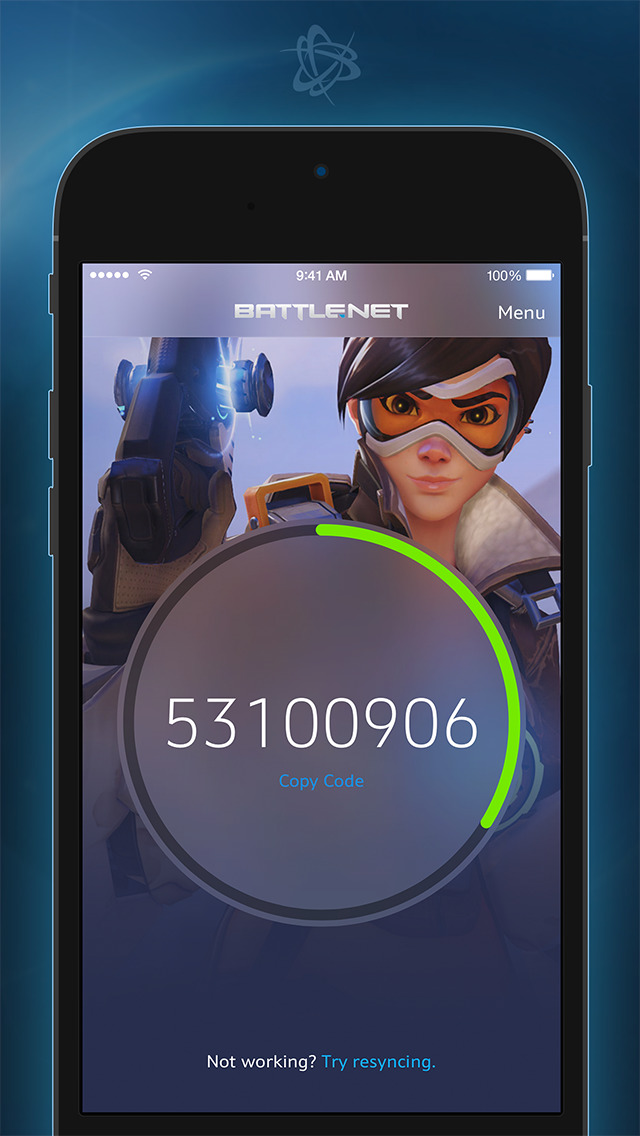 Battle.net Mobile Authenticatorのスクリーンショット_1