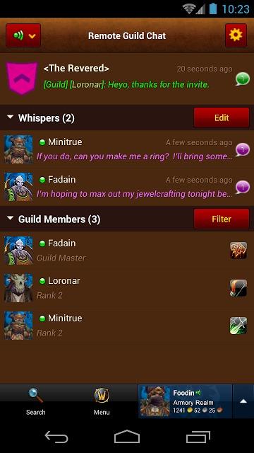 World of Warcraft Armoryのスクリーンショット_5