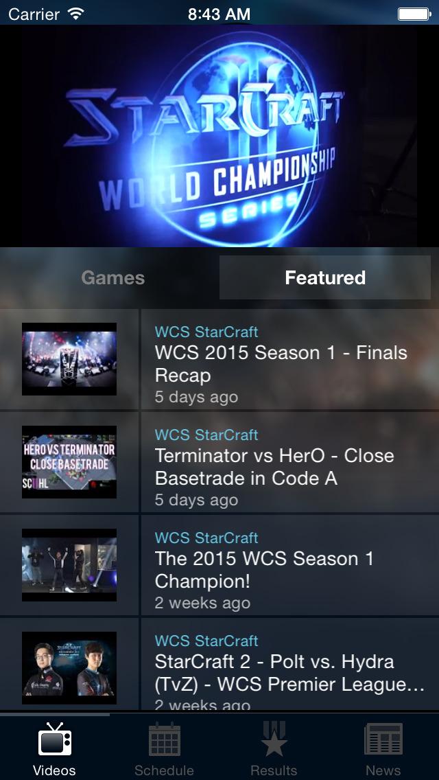 Blizzard WCSのスクリーンショット_1