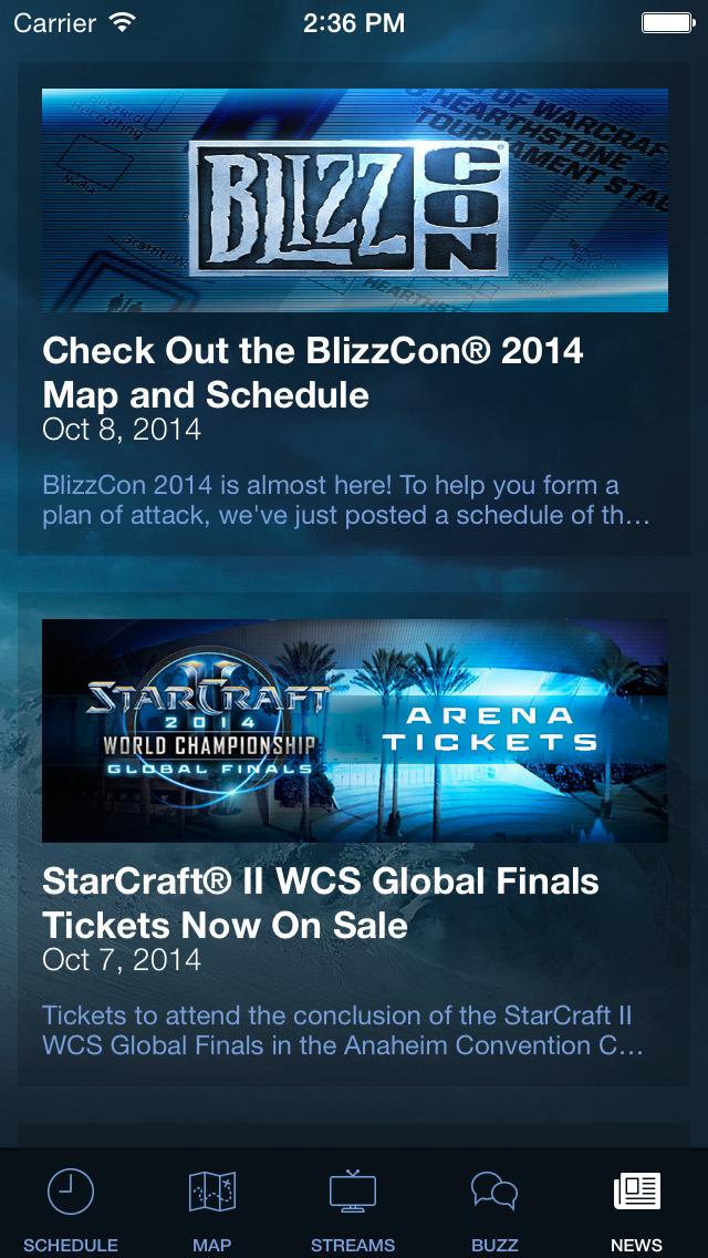 BlizzCon Guideのスクリーンショット_5