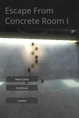 脱出ゲーム : 打ち放しコンクリートの部屋からの脱出のスクリーンショット_1