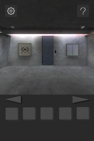 脱出ゲーム : 打ち放しコンクリートの部屋からの脱出のスクリーンショット_2
